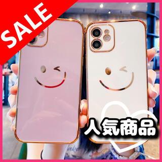 ✨人気商品✨ SMILE iPhoneカバー ホワイト色 全機種対応