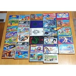 任天堂 - ファミコンソフト 箱、取説付き 30本まとめ、美品揃い