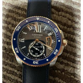 Cartier - 極美品 カルティエ カリブル ダイバー W2CA0008 新品ラバーベルト付