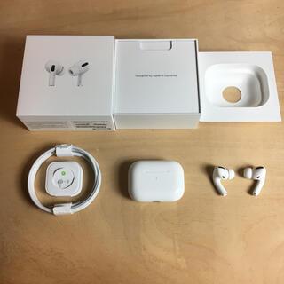 Apple - airpods pro 正規品 エアーポッズ プロ 動作確認済み イヤホン