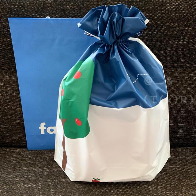familiar(ファミリア)の限定値下げ☺︎新品未開封 ファミリアajewコラボ 限定トートバック レッド  レディースのバッグ(トートバッグ)の商品写真