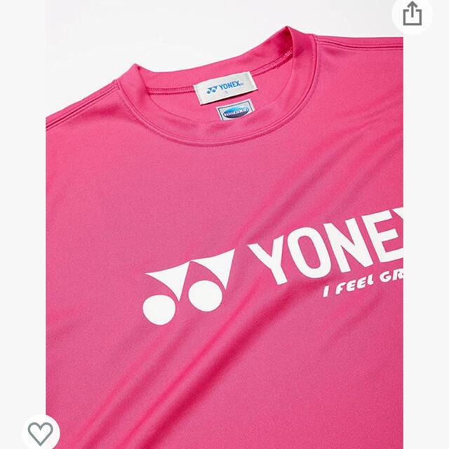 YONEX(ヨネックス)のYONEX テニス バトミントン Tシャツ ウェア ヨネックス  スポーツ/アウトドアのテニス(ウェア)の商品写真