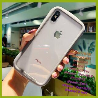 iFace型iPhoneクリアケース 【iPhone7/8】シンプル