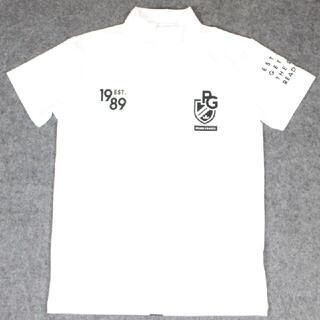 パーリーゲイツ メンズ用 ゴルフウエア Tシャツ 白 7サイズ