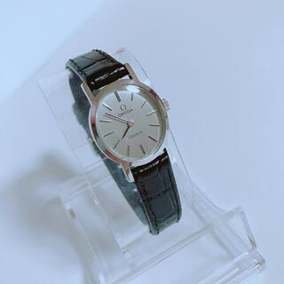 オメガ(OMEGA)のオメガΩジュネーブ 手巻き 新品ベルト トゥモローランド HIROB(腕時計)