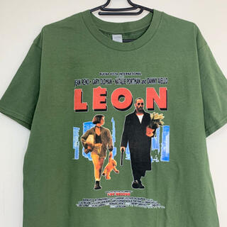 レオン Tシャツ カーキ LEON マチルダ
