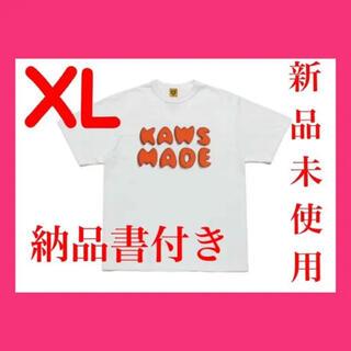 新品未使用 HUMAN MADE KAWS t-shirt #3 white