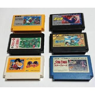 任天堂 - 任天堂ファミコンソフト 6個 セット