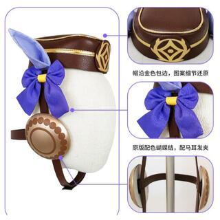 ウマ娘 ゴールドシップ ゴルシ風 コスプレ道具+帽子+耳+髪飾り(小道具)