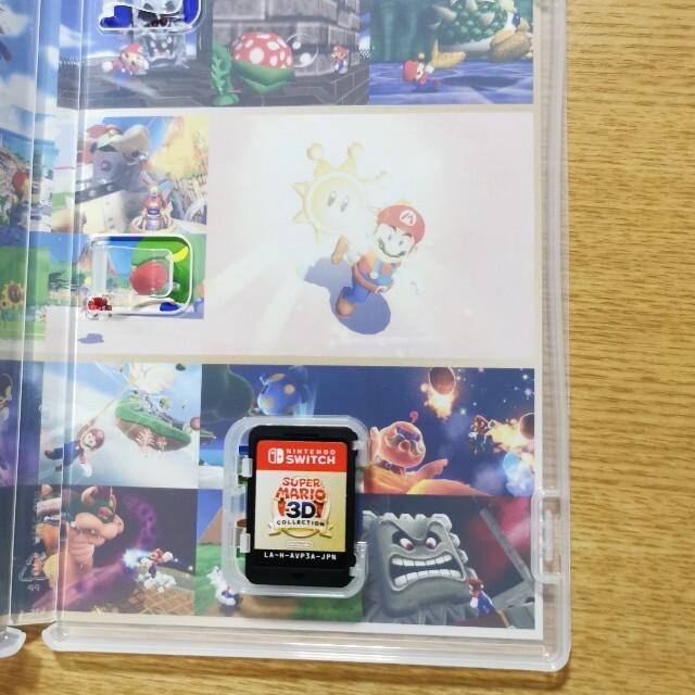 Nintendo Switch(ニンテンドースイッチ)のSwitch マリオ 3d コレクション  エンタメ/ホビーのゲームソフト/ゲーム機本体(家庭用ゲームソフト)の商品写真
