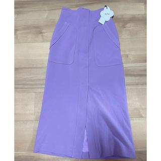 リリーブラウン(Lily Brown)のリリーブラウン スリットタイトスカート(ロングスカート)