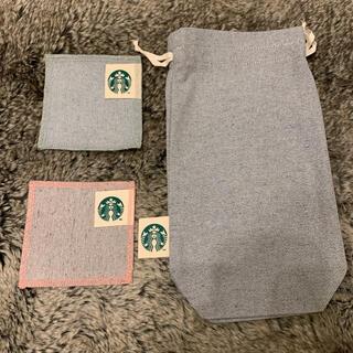 Starbucks Coffee - 新品未使用 スターバックス コースター2枚 マルチミニバッグ セット