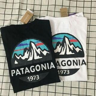 patagonia - 2枚Patagonia  Tシャツ ブラック+ホワイトM