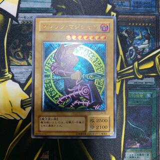 ユウギオウ(遊戯王)の遊戯王 ブラック・マジシャン レリーフ 良品(シングルカード)