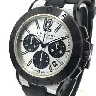 ブルガリ(BVLGARI)のブルガリ DG42SMCCH ディアゴノ マグネシウム クロノグラフ 腕時計(腕時計(アナログ))