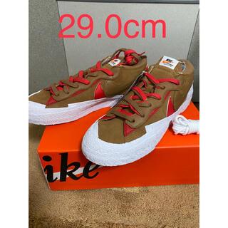 sacai - Sacai × Nike Blazer Low British Tan
