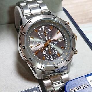 SEIKO - 新品【SEIKO/セイコー】 クロノグラフ メンズ 腕時計 7T92-0LV0
