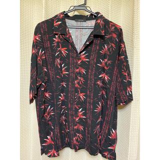 ジーナシス(JEANASIS)のアロハBIGシャツ(シャツ/ブラウス(半袖/袖なし))