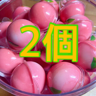 DaDaももグミ2個 お菓子 ASMR Gummi(菓子/デザート)