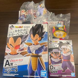 BANDAI - 一番くじ ドラゴンボール EX 天下分け目の超決戦 ベジータ 悟飯 F賞 3種