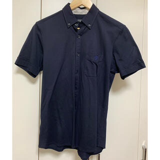 ブラックレーベルクレストブリッジ(BLACK LABEL CRESTBRIDGE)のBlack Label CRESTBRIDGE 男性用の濃紺シャツ サイズ2 (シャツ)