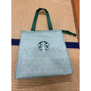 スターバックスコーヒー(Starbucks Coffee)のスターバックス★25周年★保冷バッグ未使用品(その他)