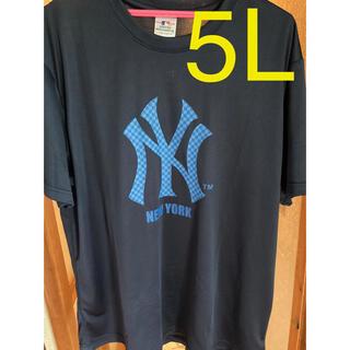 MLB  ニューヨークヤンキース メッシュTシャツ 5L