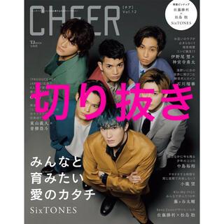 CHEER Vol.12 (TJMOOK)切り抜き