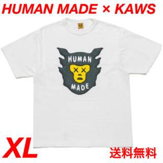 ヒューマンメイド カウズ Tシャツ #1 ホワイト