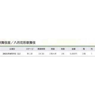 八月花形歌舞伎 八月大歌舞伎 8/7 8月7日 (土) 第二部 14:30開演(伝統芸能)
