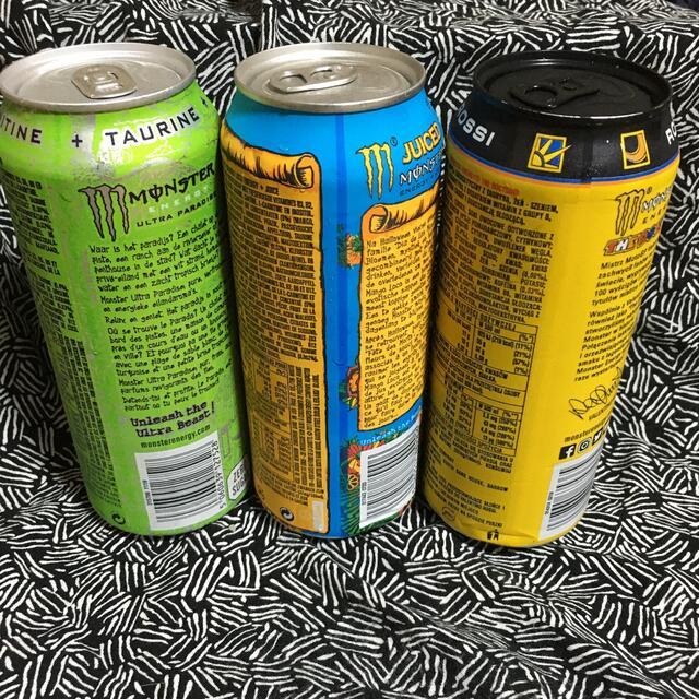モンスターエナジー 3本セット海外 限定 パラダイス・マンゴーロコ・ロッシ 食品/飲料/酒の飲料(ソフトドリンク)の商品写真