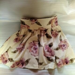 レディースひざ丈スカート