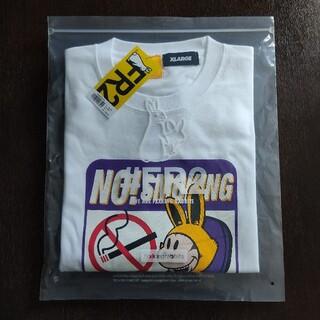 XLARGE - #fr2 XLARGE コラボTシャツ ホワイト 新品未使用