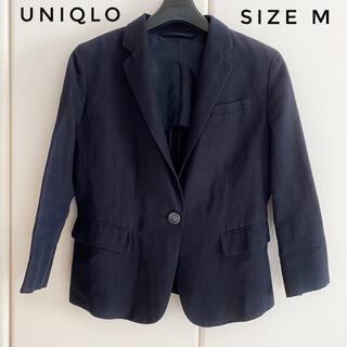 ユニクロ(UNIQLO)のユニクロ リネン混ジャケット(テーラードジャケット)