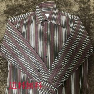 TAKEO KIKUCHI - TAKEO KIKUCHI タケオキクチ Yシャツ サイズ2 ストライプ  M
