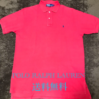 POLO RALPH LAUREN - POLO RALPH LAUREN ポロラルフローレン ポロシャツL 赤  刺繍