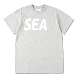 SEA - 21SS WIND AND SEA S/S T-SHIRT H.GRAY L