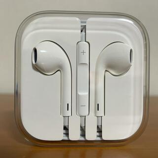 アップル(Apple)のApple純正イヤホン ジャックタイプ(ヘッドフォン/イヤフォン)