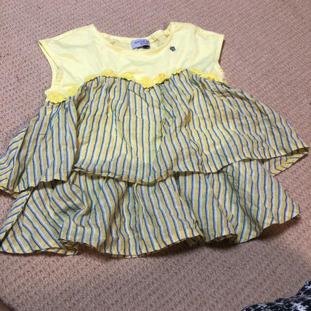 ANNA SUI mini(アナスイミニ)のアナスイミニ ワンピース トップスチュニック キッズ/ベビー/マタニティのキッズ服女の子用(90cm~)(ワンピース)の商品写真