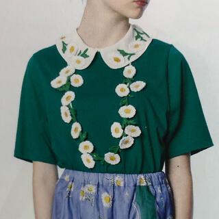 JaneMarple - Jane Marple swingingdaisycollar T shirt