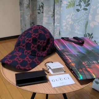 Gucci - 美品 2020aw GUCCI ウールキャップ レシート有り キャップ グッチ