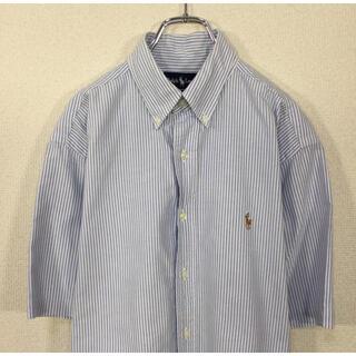 Ralph Lauren - 【90s】ラルフローレン 半袖BDシャツ ストライプ ポニー刺繍 BLAKE