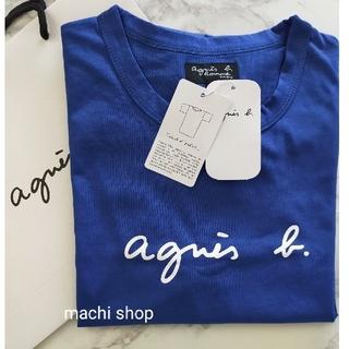 agnes b. - agnes b アニエスベー Tシャツ ブルー 新品