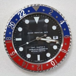 インスタ大人気❣️壁掛け時計 GMT master Ⅱ 風 時計 サブマリーナ