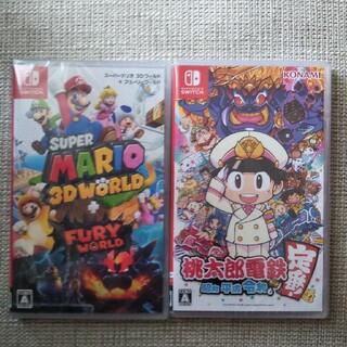Nintendo Switch - スーパーマリオ3dワールド   桃太郎電鉄
