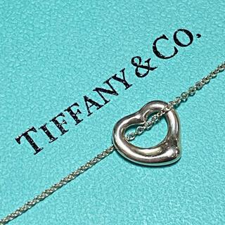 Tiffany & Co. - ティファニー オープンハート ネックレス♪