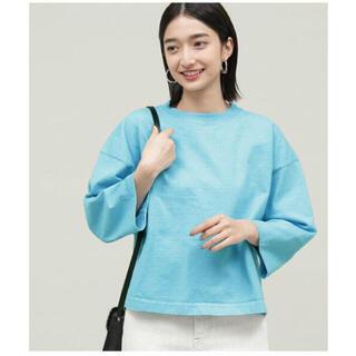 アダムエロぺ(Adam et Rope')のCAMBER CREW CUSTOM T-SHIRTS ブルー(Tシャツ(半袖/袖なし))