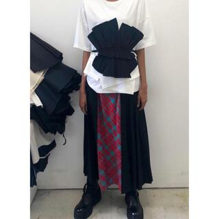 ENFOLD - 定価75900円 enfold エンフォルド  プリーツ スカート  チェック