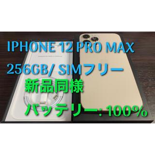 iPhone - IPHONE 12 PRO MAX 256GB SIMフリー新品同様