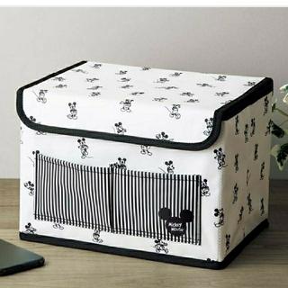 ミッキーマウス(ミッキーマウス)のミッキーマウスデザイン 収納ボックス(ファッション)